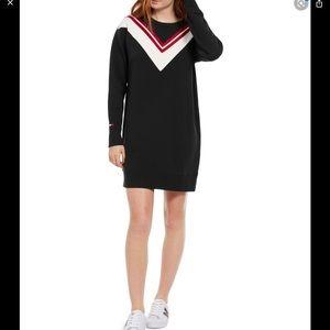 Timmy Hilfiger Sport chevron sweatshirt Dress M